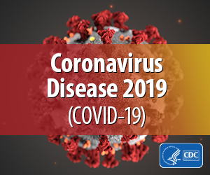 CDC logo for coronavirus disease 2019 covid-19