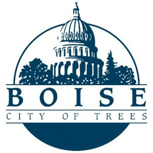 city logo with text boise city of trees