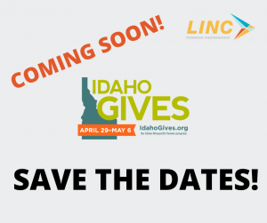 coming soon idaho gives april 29 may 6 save the dates