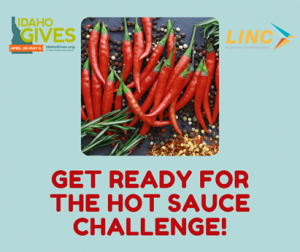 get ready ofr the hot sauce challenge